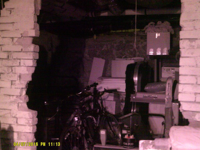 Investigating the basement Lizzie Borden House - Chuck's Paranormal Adventures