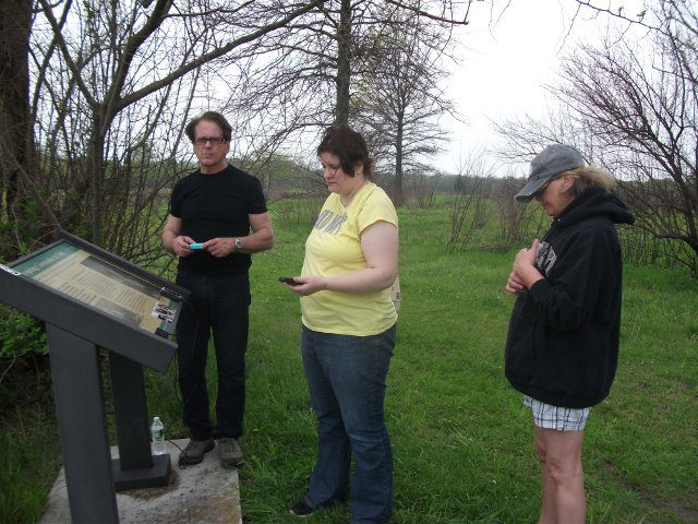 Chuck's Paranormal Adventures - Monmouth Battlefield - May 10, 2014  www.chucksghosts.com