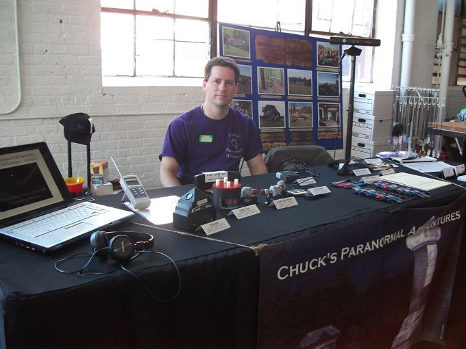Chuck at the NJ Paraunity Expo in Paterson, NJ 5-31-14
