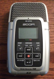 H2 Digital recorder used by Chuck's Paranormal Adventures