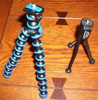 Flexible Mini Tripods for digital cameras