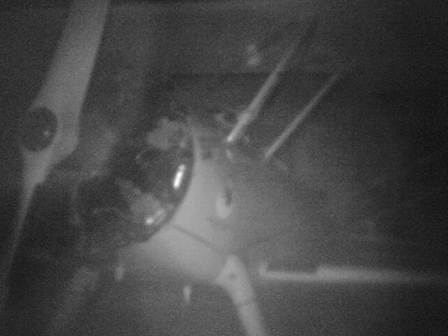 Photo of airplane with IR camera - Chuck's Paranormal Adventures